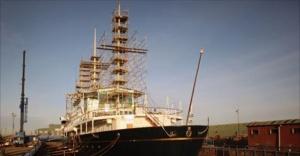 mirror royal yacht